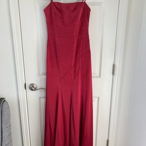 Beautiful Full length Red Gown